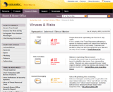 Symantec Viruses and risks